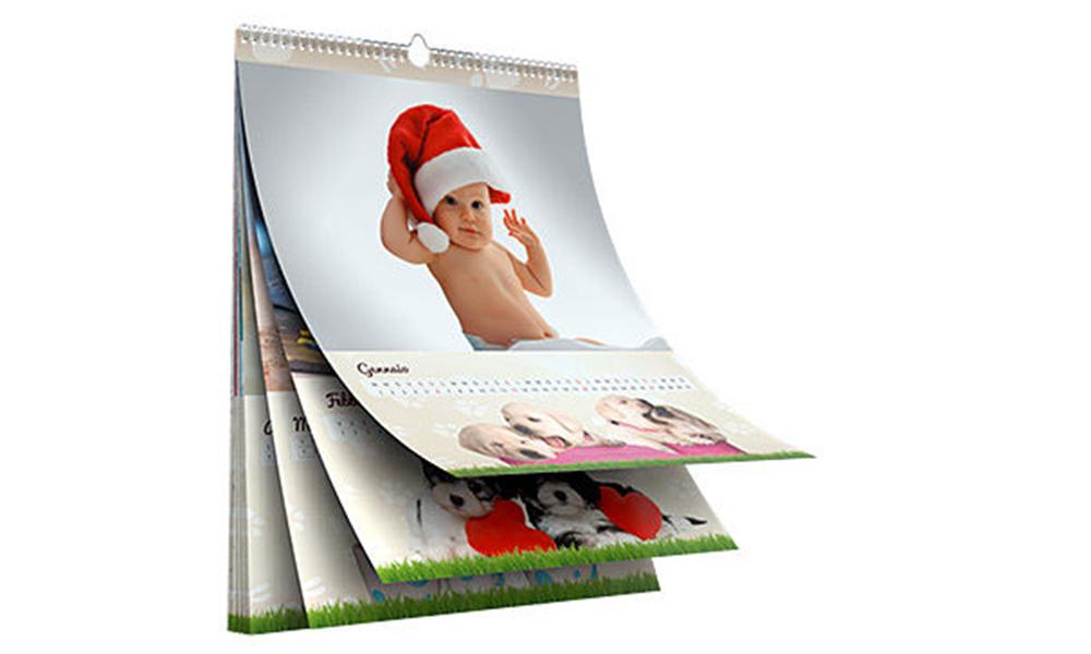 Calendario Fotografico Personalizzato.Stampa Foto Calendario Personalizzato Ikbenalles